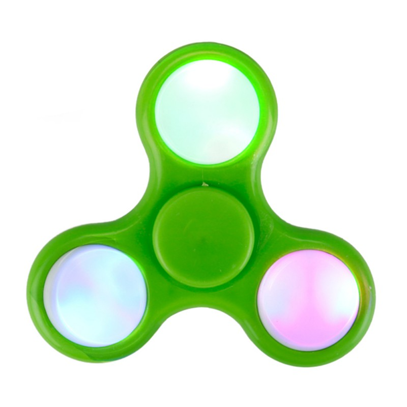 LED Finger hand Spinner Fidget Spinner EDC Sensory Cent Decorate finger spiner metal For Autism and ADHD Adult Anti Stress Toys fidget hand spinner brass metal edc finger spinner anti stress hand spinner for autism adhd toys gift spinning top