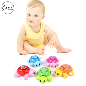 Baby Boys Girls Toys Mini Clockwork Tortoise Children Cute Animal Turtle Toy Baby Infant Wind Up Toys Random Color baby toys