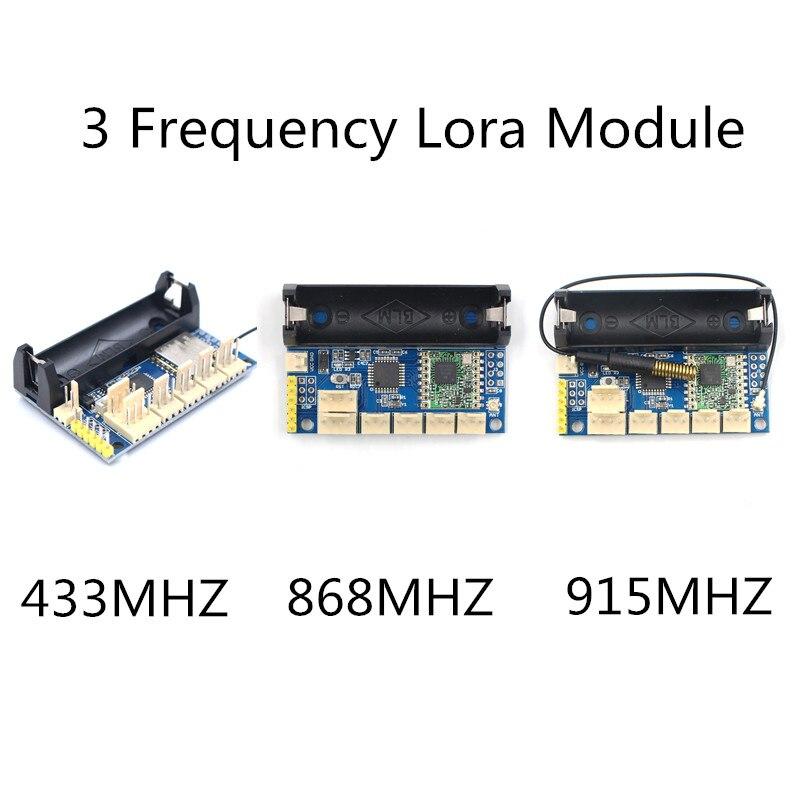 US $17 84 15% OFF|1PC 433Mhz/868MHZ/915MHZ lora module SX1278SX Module  ATmega328P Wireless DIY Kit for Arduino pro mini with 14500 baterry case-in