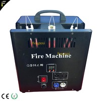 New Powerful Triple Way Stage Flame Fire Thrower Machine Special Effect 2 Head Igniter Fire Ejector