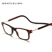 Magnetic Reading Glasses Unisex Magnets Front Connect Eyeglasses Hang Folding Reader prebyopic glasses frame 055