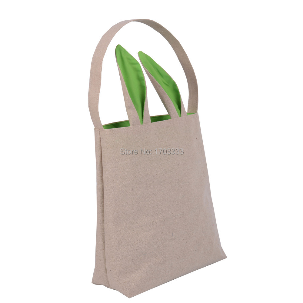 Easter gift bag classic rabbit ears cloth bag put easter eggs for easter gift bag classic rabbit ears cloth bag put easter eggs for kids easter sunday decoration ld478 in gift bags wrapping supplies from home garden negle Image collections
