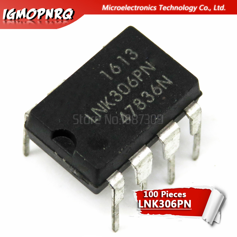 100PCS LNK306PN DIP7 LNK306P DIP LNK306 new and original IC