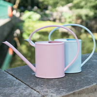 Watering can gardening household long mouth water pot plastic 1.2L large capacity indoor fleshy plant watering Kettle mx6131600|Water Cans| |  -