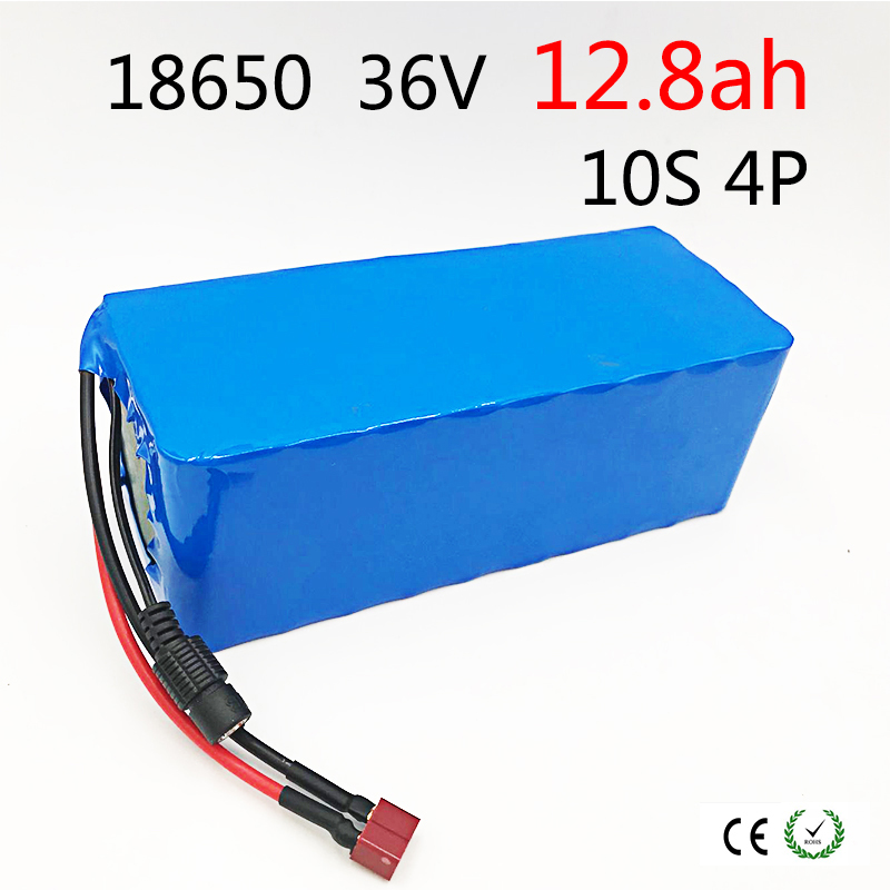 10S 4P 36V 12800mAh 500W High Power and Capacity 42V 18650 Lithium Battery Motorcycle Electric Car Bicycle Scooter with BMS10S 4P 36V 12800mAh 500W High Power and Capacity 42V 18650 Lithium Battery Motorcycle Electric Car Bicycle Scooter with BMS