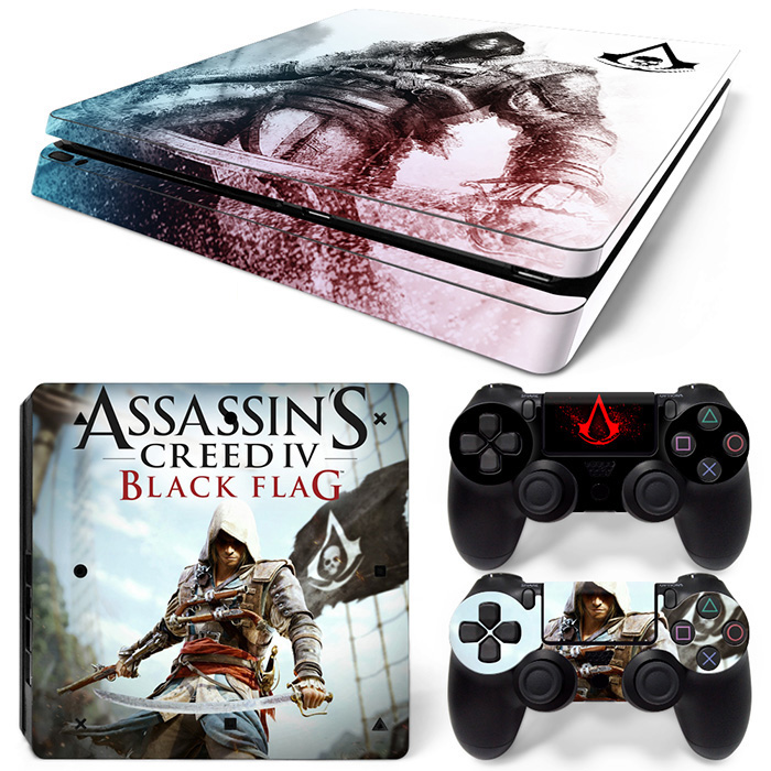 NEW GAME PROTETIVE STICKER VINYL DECAL FOR PS4 SLIM CONSOLE