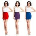 3 Cores da moda Elegante Design de Moda Sexy Slimming Magro Saia Sexy 2016 Venda Quente