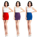 Fashion 3 Colors Elegant Fashion Sexy Design Slimming Skinny Sexy Skirt 2016 Hot Sale