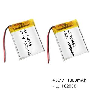 3.7 V 102050 1000mAh Lithium-i