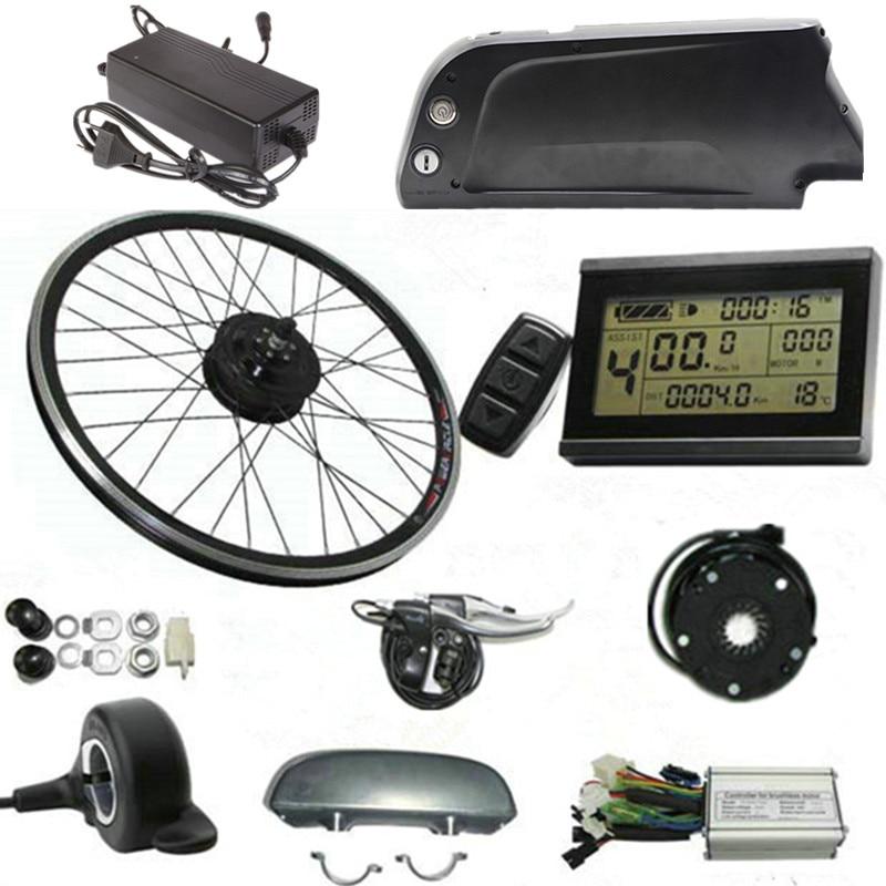 36v 48v 250w 350w 500w electric bike conversion kit velo electrique long range powerful bici. Black Bedroom Furniture Sets. Home Design Ideas