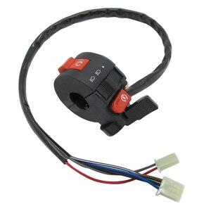 Image 3 - 22mm Left Handlebar Kill Control Choke SwitchKill Light Starter Choke Switch Assembly for 50cc 70cc 90cc 110cc 125cc ATV Quad