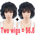Promotional Products Short Wigs for Women Synthetic Wig Short Curly Hair Heat Resistant Synthetic Wigs for Black Women Cheap