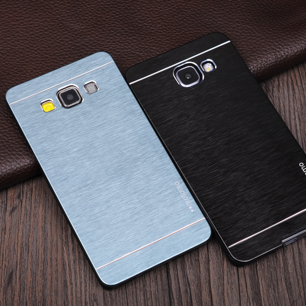 For Samsung A3 2016 Aluminum Case MOTOMO Brushed PC Phone Cover for Samsung Galaxy A3 2016 Case J5 J3 J7 J5 Prime A7 A5 A3 2017