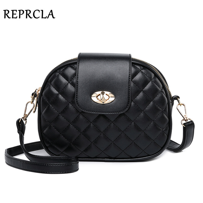 REPRCLA Hot Fashion Crossbody Bags For Women 2019 High Capacity 3 Layer Shoulder Bag Handbag PU Leather Women Messenger Bags