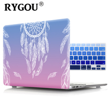 RYGOU Printing Dream Hard Case For Apple Macbook Air Pro Retina 11 12 13 15 inch Mac book Pro 13 15 With or Without Touch Bar цена