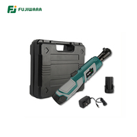 FUJIWARA 3/8 18V Lithium Battery Ratchet Wrench 1500mAh Portable Rechargeable Car Repair Tool