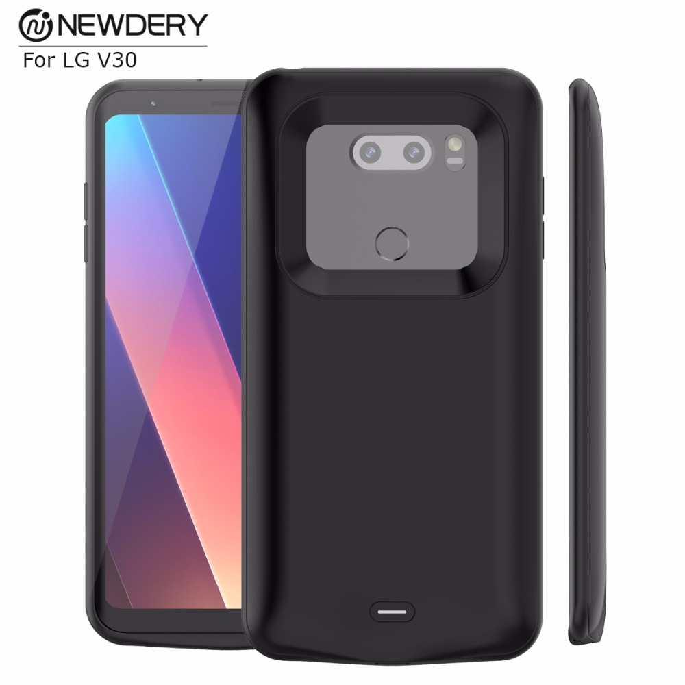 best sneakers e8321 46b58 US $35.99 40% OFF|New Arrivals portable power bank case for LG V30 slim  cell phone battery case 4200mah external case charger for LG V30+ plus-in  ...