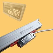 KA600 serisi sismik direnç doğrusal deplasman sensörü makinesi dijital ekran ızgara cetvel optik ölçek çözünürlük 5um