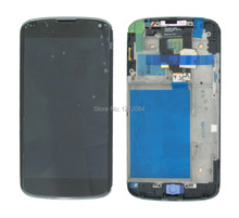 For LG E960 Google Nexus 4 LCD display Screen With Touch glass Screen Digitizer Frame complete