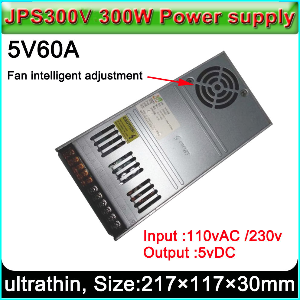 Ultrathin LED Display Power Supply, Input 110V Or 230VAC,Suitable For Outdoor And Indoor P3 P4 P5 P6 P7.62 P8 P10 Led Display