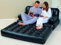 Smartlife с Многофункциональный надувные кожаный диван раскладной диван кровать