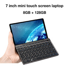 GPD Bolso 2 8 GB Âmbar 7 Polegada Bolso Laptop ultrabook Tela Sensível Ao Toque Mini PC Intel Celeron CPU 3965Y Janelas sistema 10 8 GB/128 GB(China)