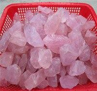 100 г натуральный сырой розовый кварцевый камень с лечебным действием, образцы F165CL кристалл любовь натуральные камни и минералы Бесплатная д...