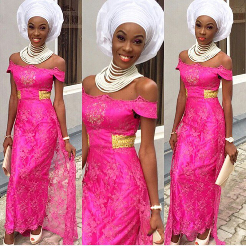 Modele de robe de soiree en bazin