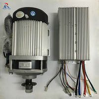 1000W 1200W 48V 60V BM1412ZXF Brushless DC Motor Electric Ebike Patrs Scooter Bike Electric Tricycle Motor