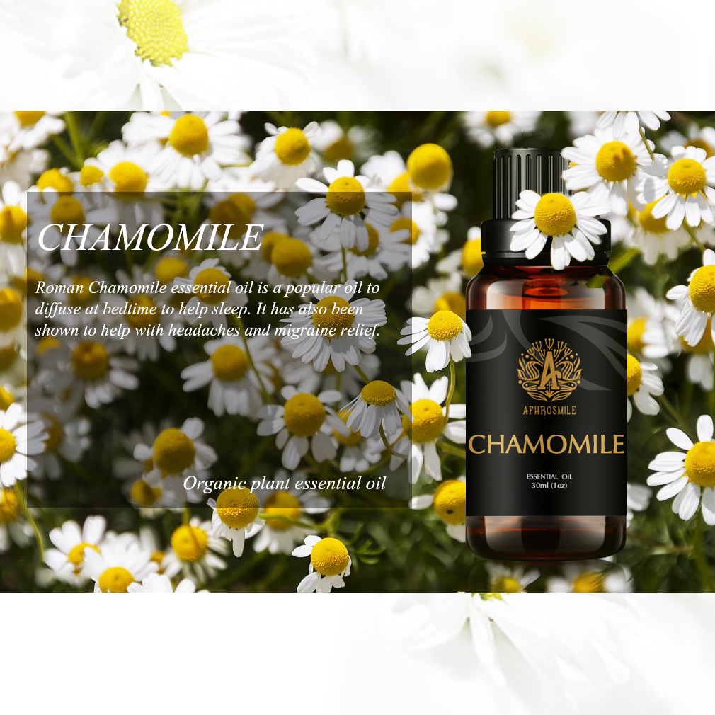 Chamomile Essential Oils 30ml Effectly Relieve Pain Treat A Variety of Skin Problems Chamomile Massage Oil Anti-allergy
