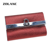 Zolanc  Leather key wallets High-Quality Cowskin Man's key case 2016 Hot Split Key Bag