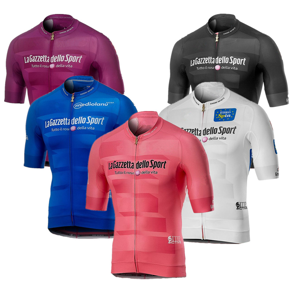 Cycling-Jerseys Short-Sleeve ITALIA Racing-Clothes Tour-De-Italy Ciclismo Ropa-Maillot