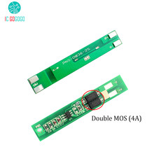 2pcs 4A 2S 18650 Lithium Battery Protection Board 4 String 7.4V 8.4V Polymer Charge Discharge Protection Circuit High Current(China)