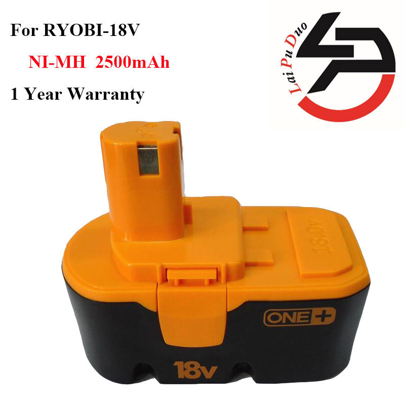Brand new 2.5Ah 18V Ni-MH Replacement Power Tool Battery for RYOBI:1400672,B-1815-S,1322401,BCP1817,ABP1801,130224007,RY-1804