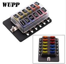 Блок предохранителей wupp универсальный 1 в 10 32