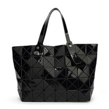 2017 Nueva Bao bao mujeres Enrejado de Diamante del bolso de Mano de la perla geometría bolsa de hombro Acolchada saco bolsas de bolsos de las mujeres famosas marcas bolsas