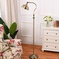 Американская кантри Напольная Лампа в скандинавском стиле личность кабинет вертикальная лампа гостиная диван лампа ZP5131618
