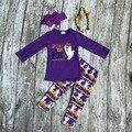 Meninas outfits bebê meninas meninas roupas de festa do Dia Das Bruxas Dia Das Bruxas fantasma roupas de manga longa com calça com accessoreis Azect