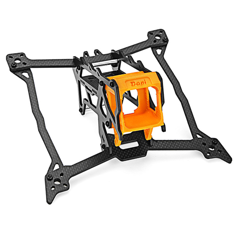 Minibigger 240mm Wheelbase 5 Inch 4mm Arm Carbon Fiber Frame kit for RC Drone Racing Multicoptor Compatiable with Runcam Camera awesome f100 100mm quadcopter frame kit wheelbase mini four axis aircraft pure carbon fiber for fpv rc racing drone frame kit