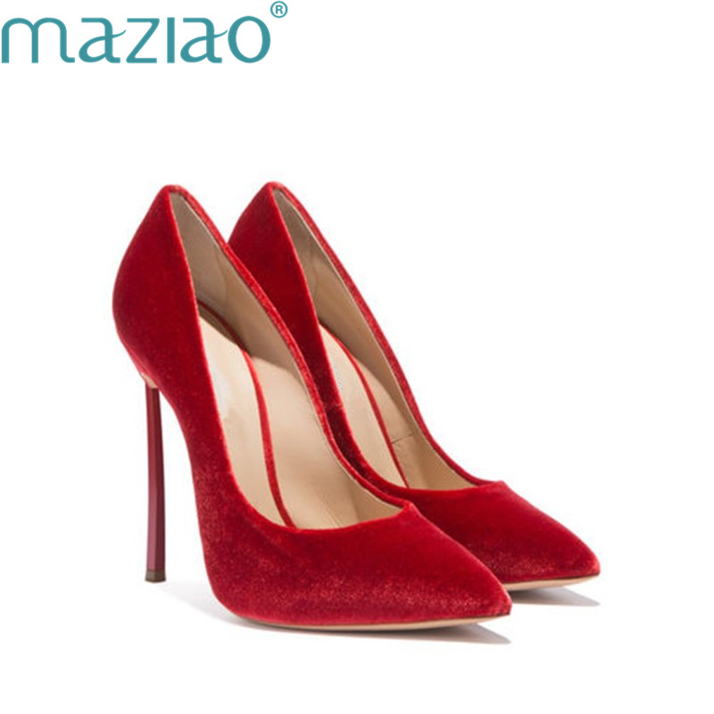 Bouche Bout Profonde En Féminine Maziao Mariage Chaussure Super Pointu rouge Femmes Daim Talons Peu Talon Mary Chaussures De Gris Mode Haute Jane xt0nnwY