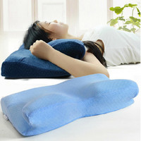 61x33cm Orthopedic Latex Magnetic White Color Neck Pillow Slow Rebound Memory Foam Pillows Cervical Health Care Pain Release