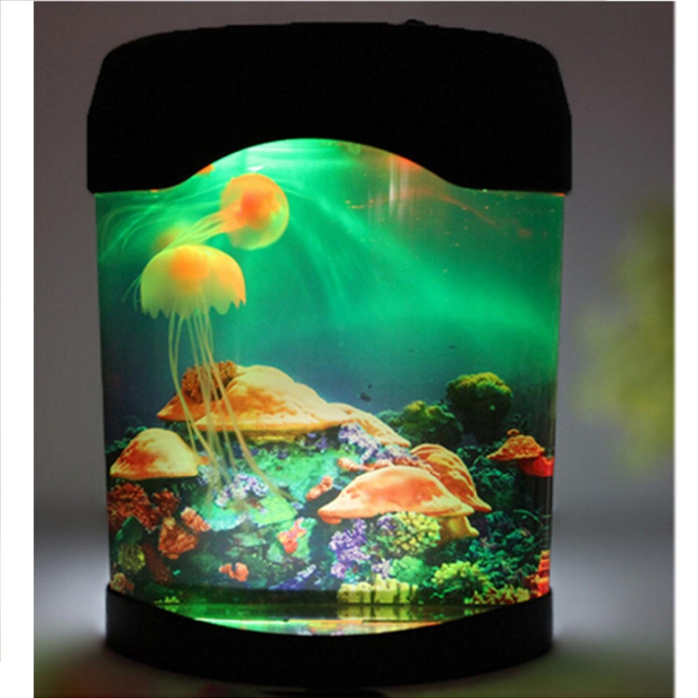 Aquarium fish tank for sale - Aliexpress Com Buy Hot Sale Free Shipping Novelty Led Artificial Jellyfish Aquarium Lighting Fish Tank Night Light Lamp Veilleuse Avec From Reliable Light