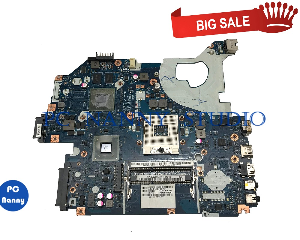 PCNANNY MBRXK11001 for Acer aspire 5750 5750G Laptop motherboard GT610M P5WE0 LA-6901P HM65 DDR3 tested image