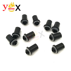 Image 4 - Kit de parafusos de pára brisa de 5mm, parafusos de parafuso para suzuki katana gsxr 600 GSX R750 gsxr1000 baneditor gsf650s 1200 com 10 peças s s
