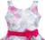 Vestido de las muchachas 3 Capas de Dibujo A Mano Peonía Flor Vestidos Del Banquete de Boda Del Desfile 2017 de La Princesa Del Verano Ropa de Los Cabritos Tamaño 4-12