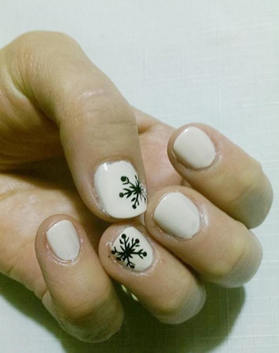 Echt 5 hand nägel siebdruck digitale nageldrucker nagel art ...
