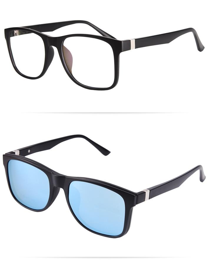 8402b6f8066 fashion glasses frame for myopia eyeglasses men sunglasses Magnetic ...