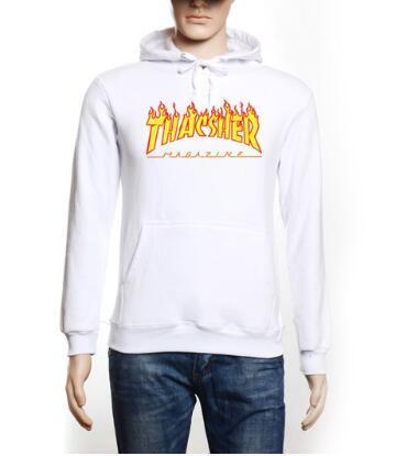2017 Top Grade New Fashion Men hoodies Sweatshirt Men Hooded Mens trasher Hoodies And Sweatshirts Casual -Clothing