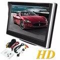5.0 Pulgadas Monitor Del Coche TFT LCD 800*480 Color de 16:9 Pantalla de 2 Vías Entrada de Video Para Visión Trasera Inversa de Copia de seguridad de La Cámara DVD VCD DC 12 V
