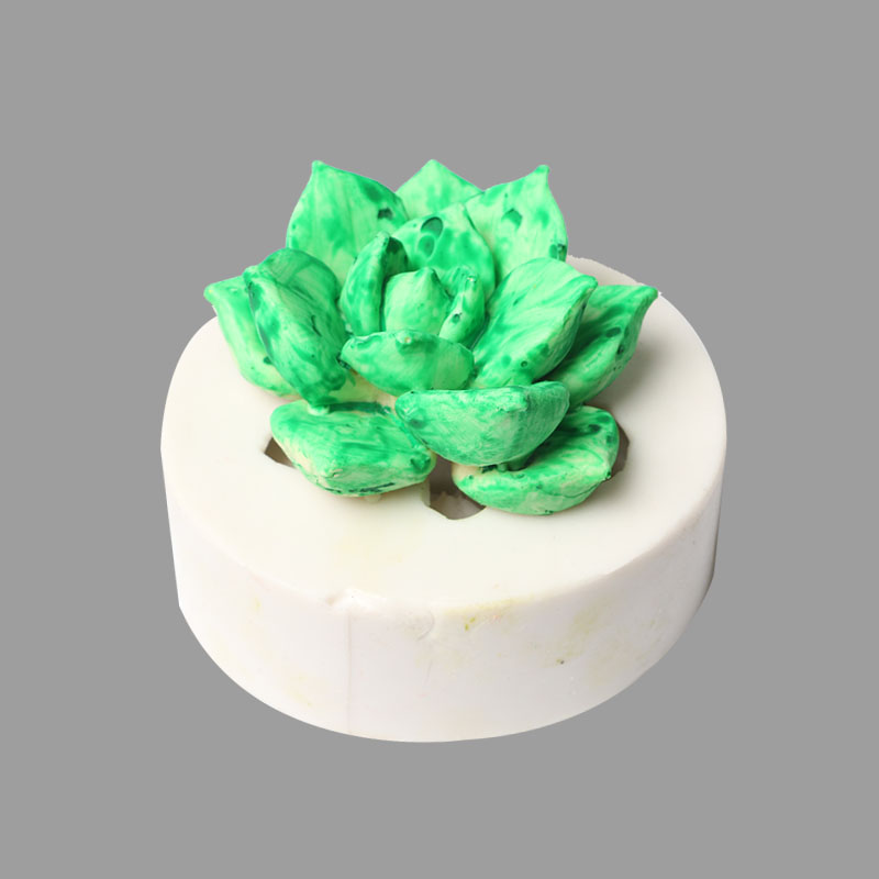 Succulent Plant Silicone Mold Potted Cement Flower Mold Tool Resin Craft Handmade DIY for Toy Jewelry Making Decorating